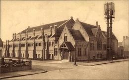 Cp Bruges Brügge Flandern Westflandern, Stedelijke Zwemschool, Keizer Karelstraat 41 - Belgio
