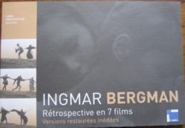 Dépliant/Affiche (22x15 Cm Puis 44x60 Cm) Rétrospective Ingmar Bergman En 7 Films - Non Classificati