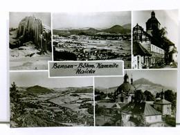 Mehrbild-AK Bensen - Böhm. Kamnitz - Haida, 5 Versch. Ansichten; Böhmen, Tschechien; Ungelaufen - Postcards