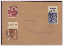 GG (007495) Brief Mit Teilweise Oberränder Einmal Mit HZ, Gelaufen Krakau Am 7.11.1942 - Occupation 1938-45