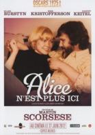 Alice N'est Plus Ici, Synopsis Dépliant 4 Volets, De Martin Scorsese Avec Ellen Burstyn, Kris Kristofferson & Harvey Kei - Non Classificati