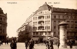 TIMISOARA : STRADA BURSEI / TAPISERIE WEISZ & COMP. HANDARBEIT - CARTE VRAIE PHOTO / REAL PHOTO POSTCARD ~ 1930 (ae187) - Romania
