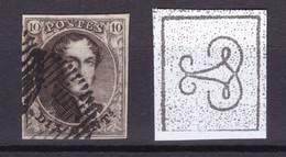 N° 3 Margé COB 115.00 - 1849-1850 Médaillons (3/5)