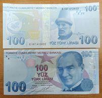 AC - TURKEY 9th EMISSION 100 TL E UNCIRCULATED - Turquia