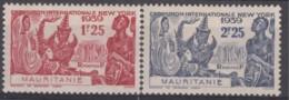 N° 98 Et N° 99 - X X - ( C 16 ) - Mauritania (1906-1944)