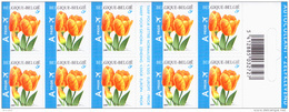 Belgium CA 054** Tulipe Orange  BUZIN MNH - Carnets 1953-....