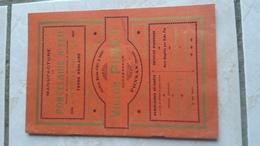 Catalogue Manufacture De Porcelaine  à Feu  Et De Poterie Fine à Feu Victor Pinet à Ponsas  Drôme  1924. - Livres, BD, Revues