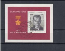 DDR Michel Kat.Nr. Block    Gest 44 - Blocks & Kleinbögen