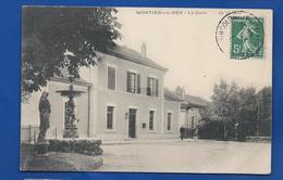 MONTIER-en-DER   La Gare    Animées        écrite En 1908 - Montier-en-Der