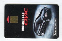Telecarte °_ Gn 193-gem-11.95-Honda Civic- R/V - 5 Units