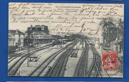 TOUL     La Gare  Animées     écrite En 1908 - Toul
