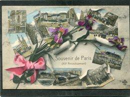 CPA - Souvenir De PARIS XIIIè Arrondissement - District 13