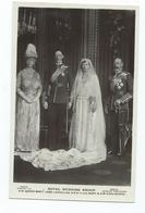 Royal Family  Rp  H.r.h. George V Queen Mary Lord Lascelles Beagles Unused - Familles Royales
