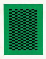 Lot De 17 Tissages En Papier (années 1950/55) - Loisirs Créatifs