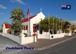 Turks And Caicos Grand Turk Cockburn Town St. Mary's Church New Postcard - Turques-et-Caïques (Iles)