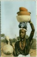 AFRICA - BURKINA FASO / REPUBLIC DE LA HAUTE VOLTA - PORTEUSE DE CALEBASSES - MAILED TO ITALY 1966 - STAMPS - (BG8157) - Burkina Faso