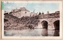 X49014 AVIRE Maine Loire (49) Vieux Pont Sur La Rivière 1940s à TACHOU Bv Jacques DESBROSSES Arcueil - France