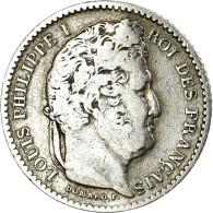 Monnaie, France, Louis-Philippe, 25 Centimes, 1845, Lille, TTB, Argent - France