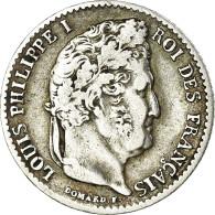 Monnaie, France, Louis-Philippe, 1/4 Franc, 1832, Lille, TB+, Argent - France