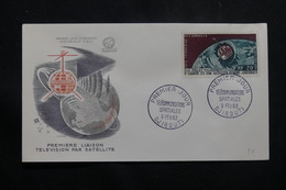 CÔTE DES SOMALIS - Enveloppe FDC En 1962 - Satellite - L 54841 - Côte Française Des Somalis (1894-1967)