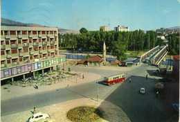 Yugoslavia - Serbia - Kosovo - Kosovska Mitrovica - Mosque,bus - Kosovo