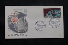 CÔTE DES SOMALIS - Enveloppe FDC En 1962 - Satellite - L 54847 - Côte Française Des Somalis (1894-1967)