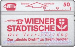 AUSTRIA Private: *Wr. Städtische - Rot* - SAMPLE [ANK P207] - Autriche