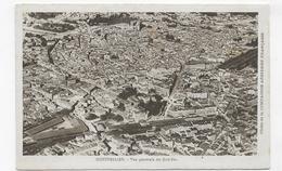 MONTPELLIER - VUE AERIENNE GENERALE DU SUD EST -  CLICHE DE LA COMPAGNIE AERIENNE FRANCAISE - CPA NON VOYAGEE - Montpellier