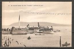 Carte P De 1912 ( Le Second Bateau De Fête Arrivant Au Port / Yverdon ) - VD Vaud