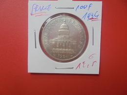 FRANCE 100 FRANCS 1984 ARGENT (A.3) - N. 100 Francs