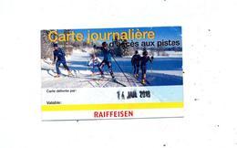 Carte Journaliere Ski De Fonds - Biglietti D'ingresso