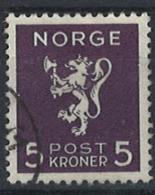 Norwegen Norway 1940. Mi 210, Used O - Usados