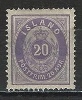 Island Mi 10b * MH - Unused Stamps