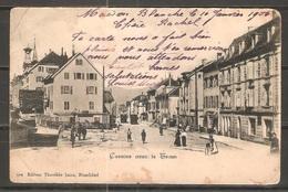 Carte P De 1906 ( Cernier ) - NE Neuchâtel