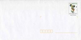"""PAP** De 2006 Avec Timbre """"Mayotte - 10 Ans De La Philatélie"""" Sur Papier Ordinaire, Blanc, épais Et Nouveau Logo - Mayotte (1892-2011)"""