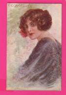 CPA (Réf: Z 2918) (ILLUSTRATEURS & PHOTOGRAPHES  SIGNÉS T. Corbella) Belle Femme - Corbella, T.