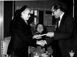 FOTO / In Gemeentehuis St Lievens Houtem 24/02/1980 Met Burgemeester Roger Otte - Sint-Lievens-Houtem