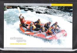 Nuova Zelanda  - 2004. Rafting, Snowsports, Paracadutismo, Jetboating, Bungy Jumping. MNH - Rafting