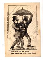 Carte Allemande Parapluie - Vieux Papiers