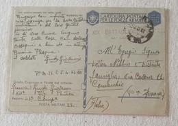 Cartolina Postale Per Le Forze Armate P.M.23 11° Armata (Grecia) Per Comacchio - 05/04/1943 - Posta Militare (PM)