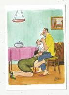 Cp , Humour ,LES GRANDS HUMORISTES , Illustrateur TETSU ,vierge ,tirage 1000 Ex. - Humor
