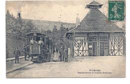 CPA La Schlucht - Nouvelle Station Du Tramway Electrique - Autres Communes