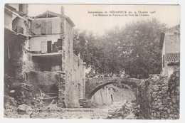 CPA HERAULT.BERDARIEUX.INONDATIONS DU 14 OCTOBRE 1908 - Bedarieux