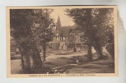 2 CPSM VILLERS SUR MER (Calvados) - LA HUCHETTE : Les Communs, Le Parc - Villers Sur Mer