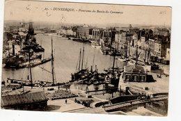 Dunkerque Panorama Du Bassin Du Commerce ( Bateau Feu ... Quai De La Citadelle , écluse Belle Inutile - Dunkerque
