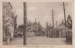 SAINT RAMBERT SUR LOIRE (42) Carrefour De Bost Pompe à Essence - Borne Michelin - Saint Just Saint Rambert