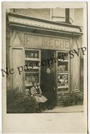 Superbe Carte Photo - SAINTE COLOMBE SUR L'HERS 11 - Epicerie Rosalie RASEYRE Qui A Succédé à François MECHE - 1910/1920 - France