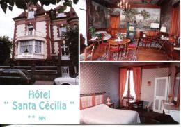 N°4808 T -cpsm Houlgate -hôtel Santa Cécilia- - Hotels & Gaststätten