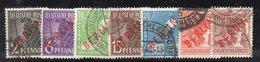 W680 - GERMANIA BERLINO 1949, Sette Valori Usati (M2200) Spst Rossa - [5] Berlín