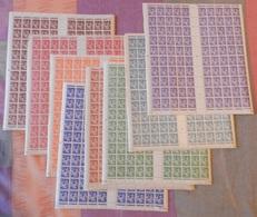 Type Iris Les 8 Valeurs 659/66 - Full Sheets